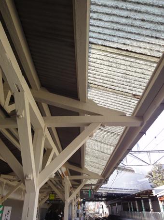 東急大井町線旗の台駅の木造ホーム_c0195909_21335587.jpg