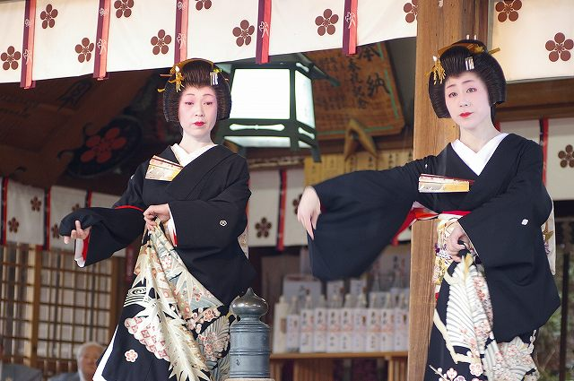 宇多須神社の節分祭 芸妓さんの舞い_d0043136_20385415.jpg