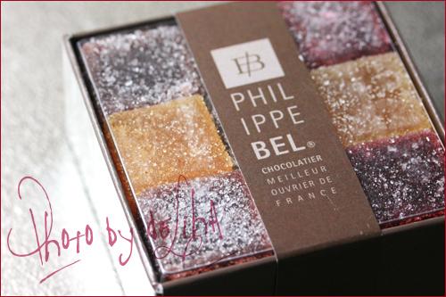『Philippe Bel <フィリップ・ベル>』パート・ド・フリュイ_c0131054_182068.jpg