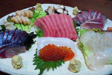 父の誕生会はプール&お寿司_c0116778_10583897.jpg