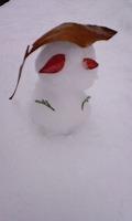 雪だるま ^^^('。')^^^_f0026093_19543842.jpg
