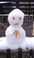 雪だるま ^^^('。')^^^_f0026093_19583257.jpg