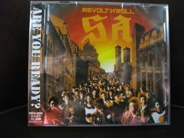 SA NewAlbum 「REVOLT\'N\'ROLL」 販売中_e0170049_1482740.jpg