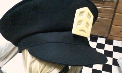 ラッキードッグ、軍帽。【その2】_a0157480_2247699.jpg