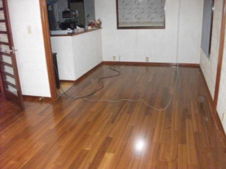 床暖房工事終了☆_c0152341_2381580.jpg