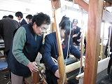 大島紬体験学習_e0194654_1644111.jpg