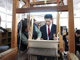 大島紬体験学習_e0194654_16442542.jpg