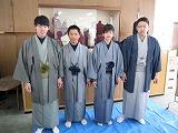 大島紬体験学習_e0194654_1650649.jpg
