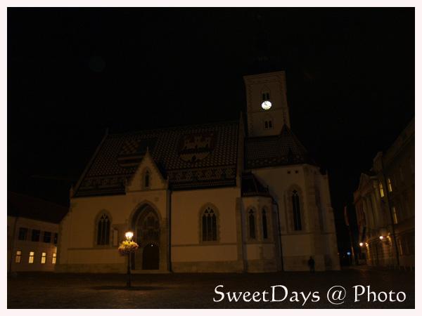 ザグレブ、夜のお散歩_e0046675_032371.jpg