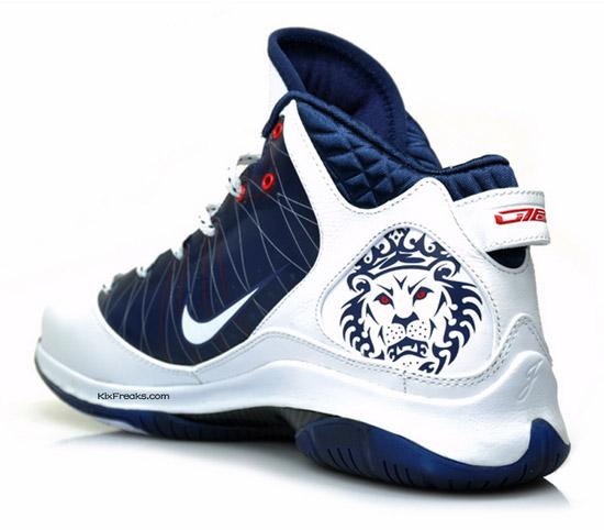 Nike Air Max LeBron VII P.S. – White – Midnight Navy – Red 79a3d0f1b