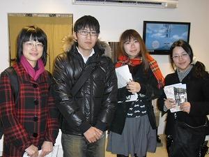 鹿児島大学の学生さんご来店♪_e0194654_1575040.jpg