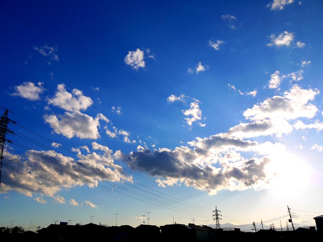 積雲 並雲 断片雲Tags:#雲   漂う雲