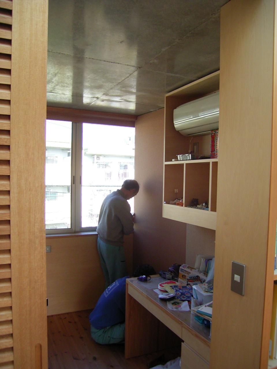 子供室のベッド工事_a0122098_16113571.jpg