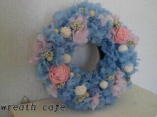 **~blue angel wreath~**_c0207719_1136372.jpg