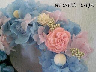 **~blue angel wreath~**_c0207719_11371994.jpg