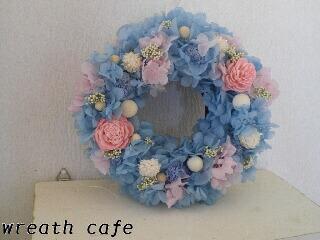 **~blue angel wreath~**_c0207719_11563153.jpg