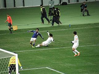 日本×中国 東アジア選手権2010_c0025217_041869.jpg