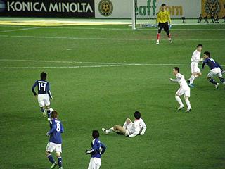 日本×中国 東アジア選手権2010_c0025217_0431743.jpg