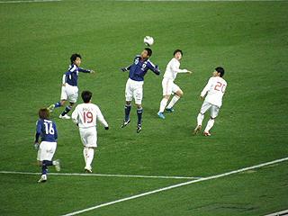 日本×中国 東アジア選手権2010_c0025217_0442799.jpg