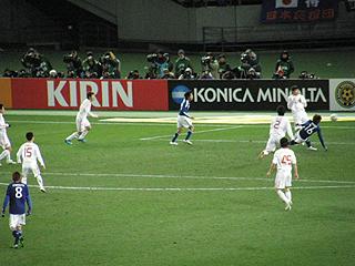 日本×中国 東アジア選手権2010_c0025217_046549.jpg