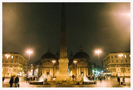 イタリア旅行記六日目⑥~カラフル・ローマお散歩★最後の晩餐はポポロ広場で_b0127032_054791.jpg