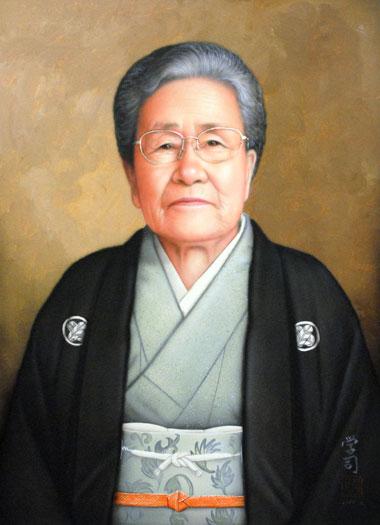 肖像画納品に行ってきました。_b0174462_2144063.jpg