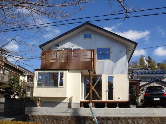 朝霧高原に富士山ドミノ住宅が建ちあがります。