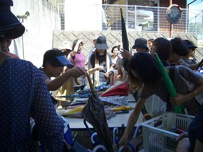 『もったいない陶器市』&『もったいない傘市』開催しました!2009年9月13日『関西活動本部』_c0206588_15325371.jpg
