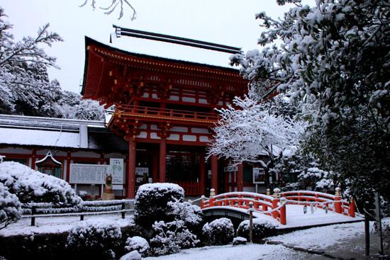 上賀茂神社 雪景色_e0048413_21353211.jpg