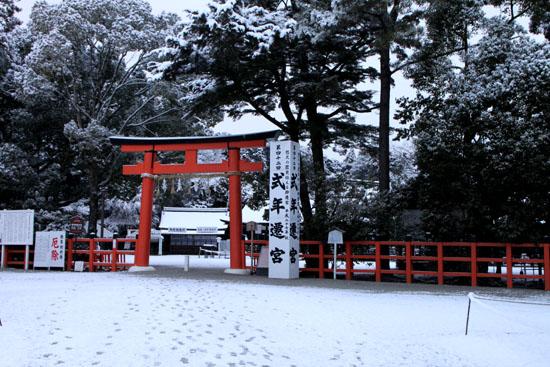上賀茂神社 雪景色_e0048413_2135752.jpg