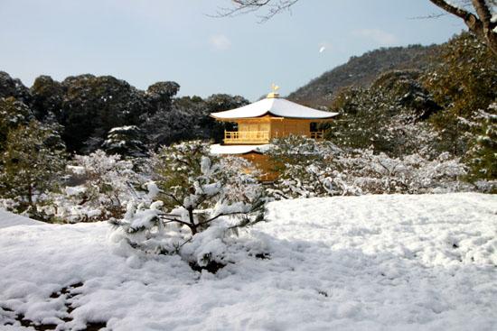 雪の金閣寺_e0048413_2254129.jpg