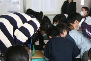 燕市立吉田南小学校にて4年生を対象にワークショップを行いました_c0167632_1752761.jpg