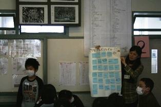 燕市立吉田南小学校にて4年生を対象にワークショップを行いました_c0167632_17545912.jpg