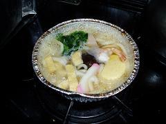 鍋焼うどんの探求(1) キンレイの冷凍「鍋焼うどん」を食す_f0030574_081081.jpg