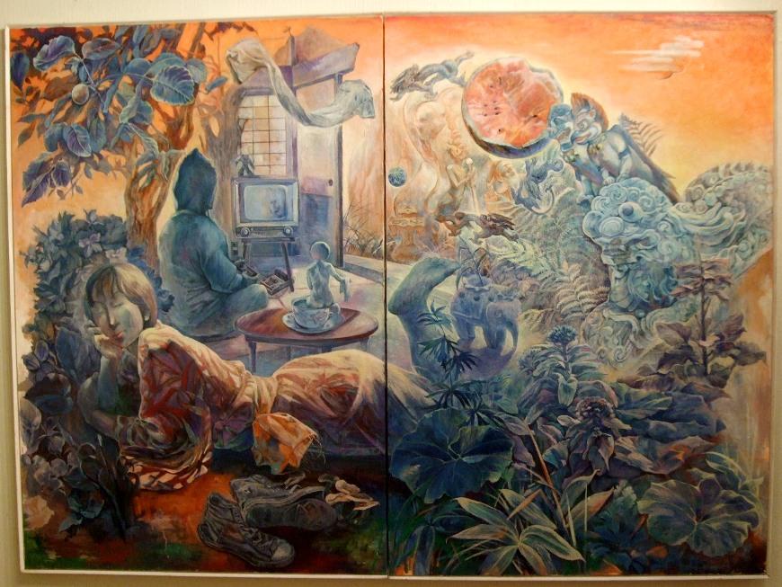 1192) たぴお 「水戸麻記子・絵画展  MITORAMAFULL」 2月8日(月)~2月13日(土)  _f0126829_1614199.jpg