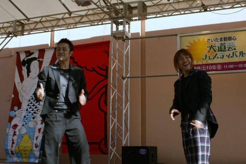 コメディアクロバット&ダンス 『 GABEZ 』_a0122932_12374445.jpg