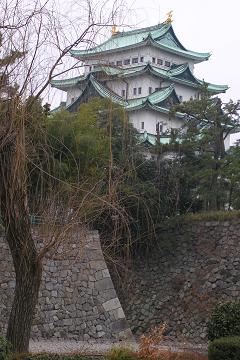 名古屋城 お濠の水鳥_c0121993_1821521.jpg