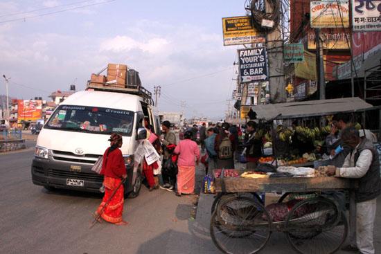 ネパールを歩く3 ポカラの街並み_e0048413_2226527.jpg