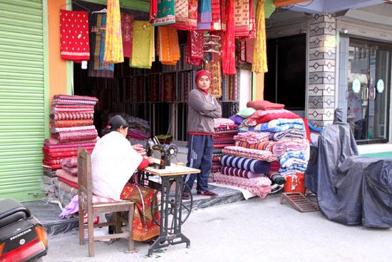ネパールを歩く3 ポカラの街並み_e0048413_22271317.jpg