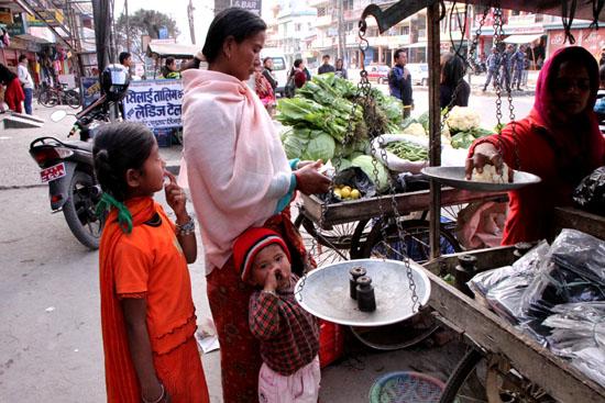 ネパールを歩く3 ポカラの街並み_e0048413_22275768.jpg