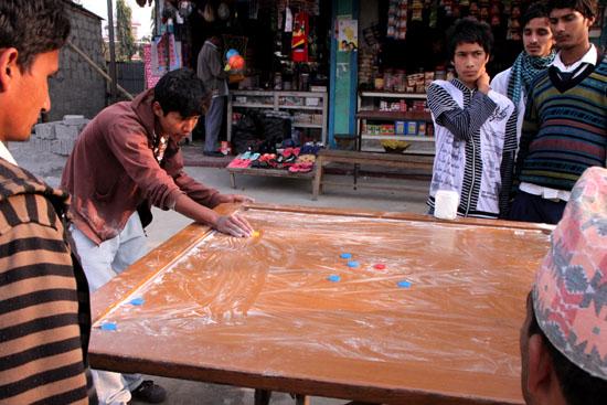 ネパールを歩く3 ポカラの街並み_e0048413_22284063.jpg
