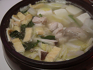 鶏の水炊き_c0025217_17311487.jpg