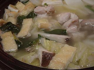 鶏の水炊き_c0025217_17311854.jpg