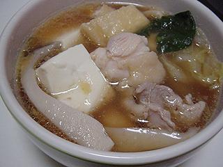 鶏の水炊き_c0025217_17312228.jpg