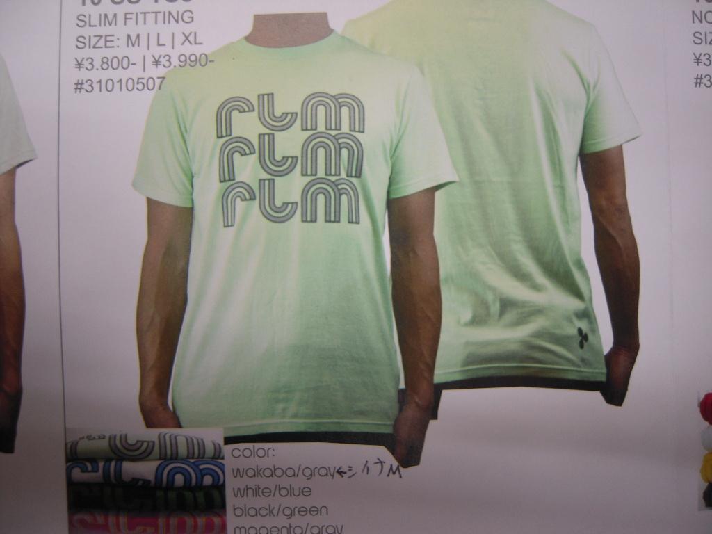 rlm clothing 10スプリング&サマー!!_f0039672_1874745.jpg