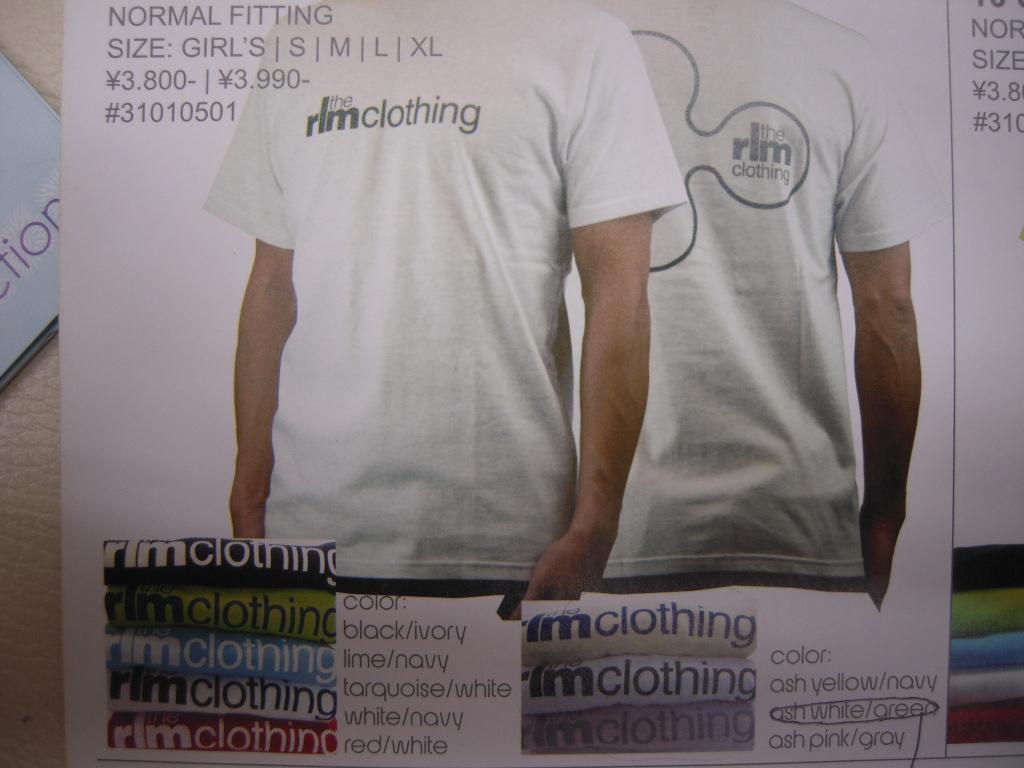 rlm clothing 10スプリング&サマー!!_f0039672_187476.jpg