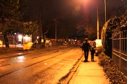 オリンピック聖火ランナーが近所を通過♪_d0129786_7104322.jpg