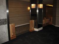 結婚式場の神殿の木橋と披露宴会場の家具をつくりました。_e0157606_18192645.jpg
