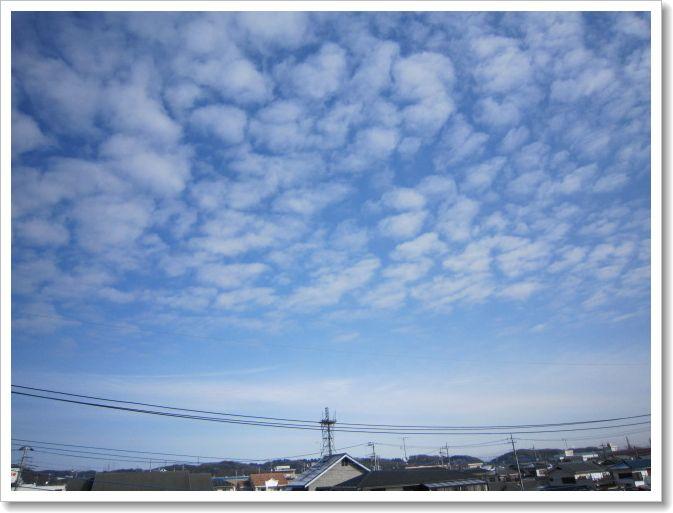 きょうの空 と チョコレート。_b0157216_232395.jpg