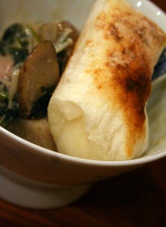 鶏肉と根菜の西京味噌スープ 豆乳仕立て_f0141419_5544940.jpg